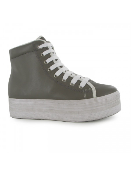 Jeffrey Campbell - Play Homg Leather Hi Tops