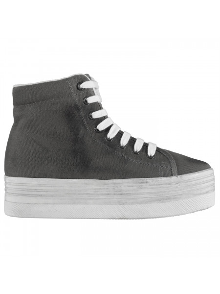 Jeffrey Campbell - Play Canvas Washed Hi Tops