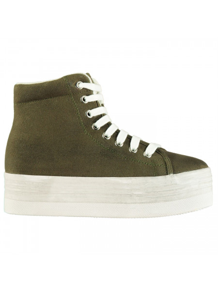 588a245561b74 Jeffrey Campbell - Play Canvas Washed Hi Tops ...