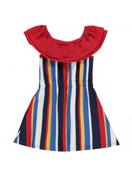SoulCal - Stripe Frill Dress Infant Girls