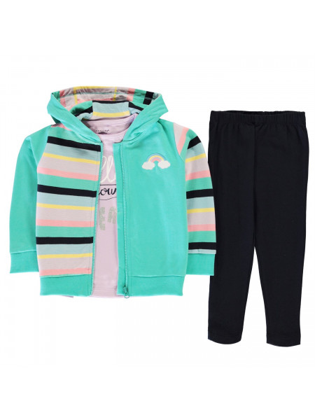 Crafted - 3 Piece Jogger Set Infant Girls