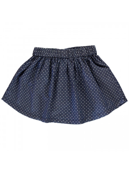 Crafted Essentials - Denim Skate Skirt Girls Junior