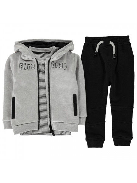 Firetrap - 3 Piece Jogging Set Infant Boys