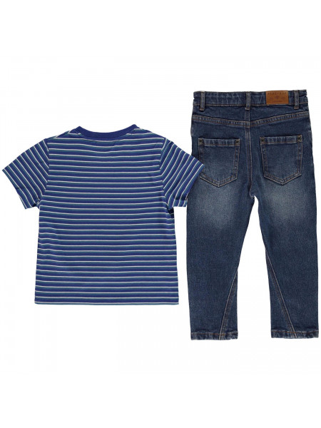 Firetrap - 2 Piece Jeans Set Infant Boys