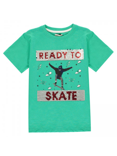 Crafted Essentials - Sequin T Shirt Infant Boys
