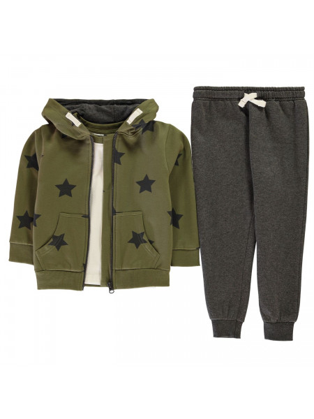 Crafted - 3 Piece Jogger Set Infant Boys