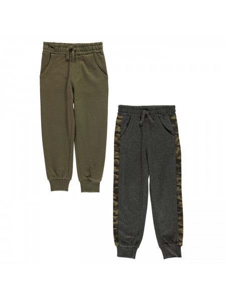 Crafted Essentials - 2 Pack of Joggers Infant Boys