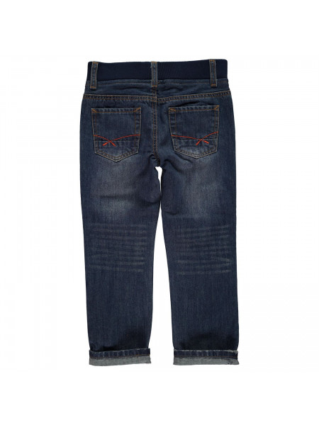 Crafted - Ribbed Waistband Jeans Infant Boys