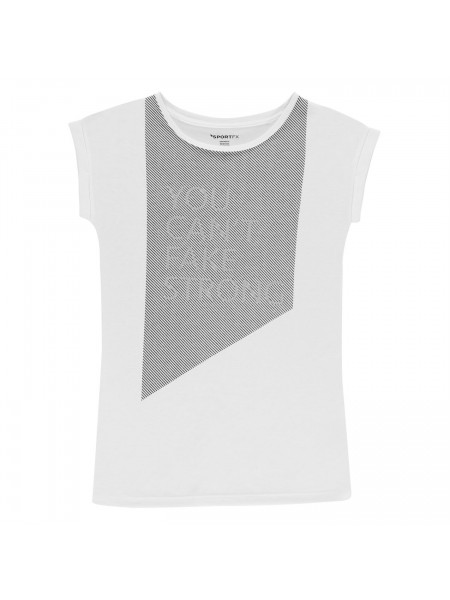 SportFX - Reflective Slogan T Shirt Ladies