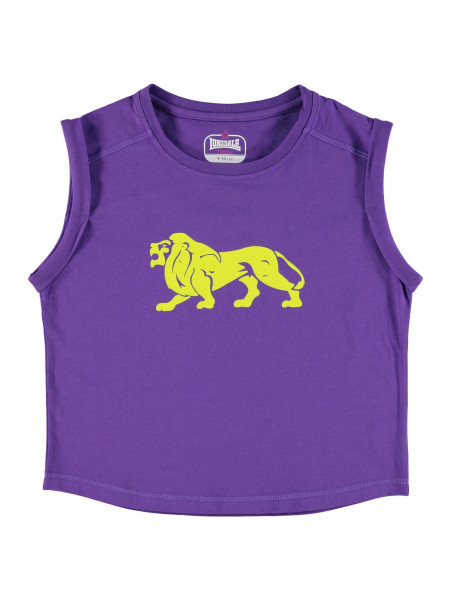 Lonsdale - Boxy T Shirt Junior Girls