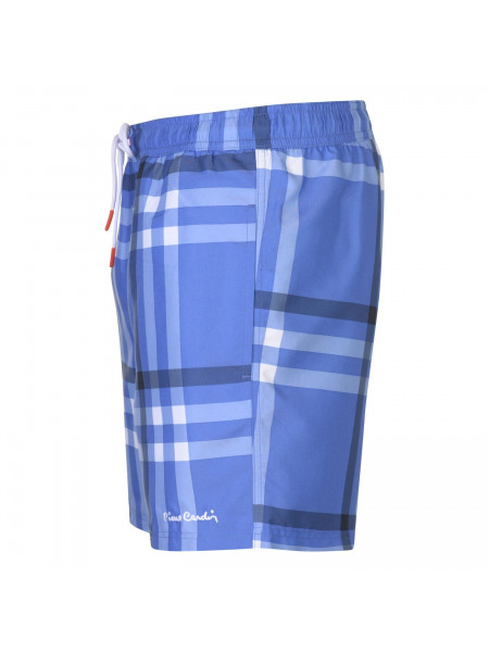Pierre Cardin - Checked Swim Shorts Mens