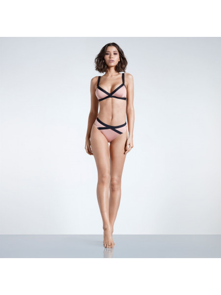 Firetrap - Blackseal Cut Out Bikini Bottoms