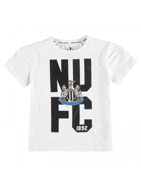 Team - Newcastle United Crest T Shirt Infant Boys