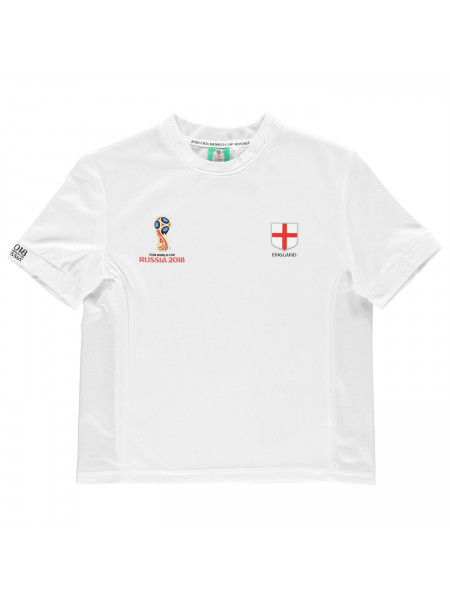 FIFA - World Cup Russia 2018 England Poly T Shirt Junior